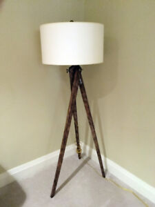 Architectural Florr Lamp- like new