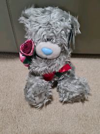Me to You Bear Pink Roses Flowers Brand New
