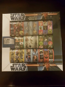 STAR WARS Stickers by the roll (1000 stickers)