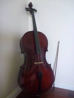 St Antonio full size cello with soft bag and bow Woodside Adelaide Hills Preview