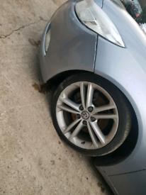 Set of 4 Vauxhall Insignia alloys wheels rims 18 inch