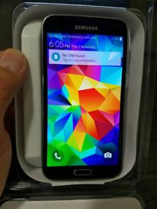 Unlocked 100%,Original Samsung Galaxy S5,16GB;Comme neuf