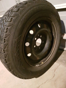 Firestone winter tires and rims set