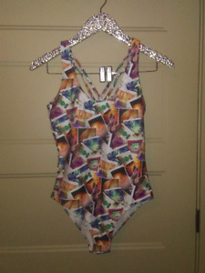 Coachella design bathing suit
