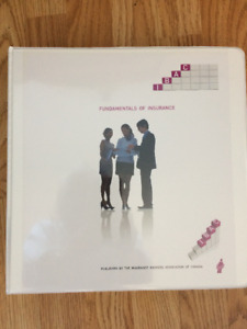 New Fundamentals of Insurance book with current ICBC - still in