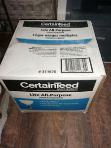 Unopened box Certainteed Lite Drywall Compound