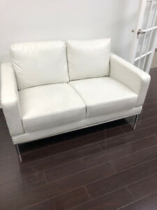 White Contemporary Furniture Gently Used