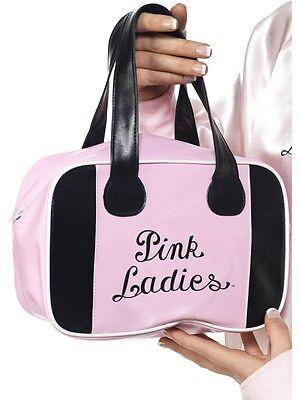 50er Jahre 1950er Jahre Pink Damen Bowlingtasche Fett Kostüm Tasche von Smiffys