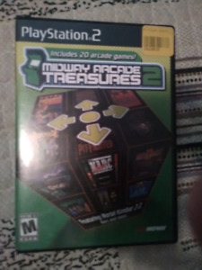 PS2 game Midway Arcade Treasures 2