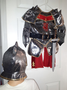 Knight Halloween Costume Age 3-7, 30 CAD OBO