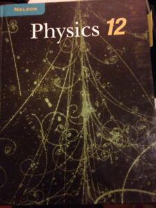 Nelson Physics 12 Textbook