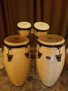 Conga/Bongo Set with Stands