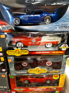 American Muscle & Hot wheels 1:18 diecast