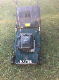 Hayter56 lawnmower