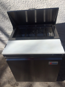 Cooler and cooking equipment Less than 1 year old