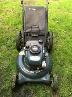 SOLD!!!! Craftsman Lawnmower for sale. 7.25 HP