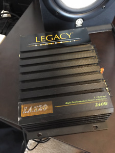 Legacy 240W Car amplifier