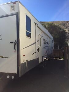 2007 forest river fifth wheel toy hauler Swap/trade