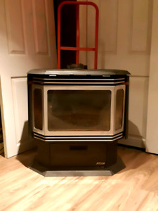 Heritage energy System free standing propane fireplace