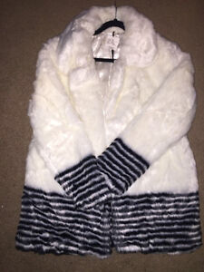 Brand New w/ Tags Faux Fur Coat - Great Christmas Gift
