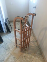 Vintage Wooden Winter Sleds - Great Condition