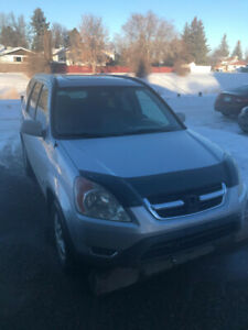 2002 Honda CR-V EX w/Leather SUV, Crossover