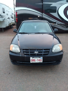 2005 Hyundai Accent 3 Door