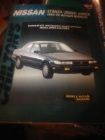 Chilton manual nissan stanza 200sx 240sx 82-92