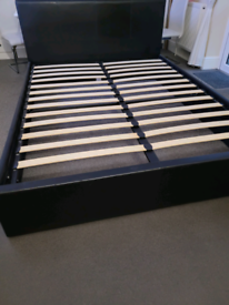 King size bed frame Ottoman