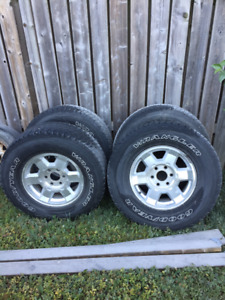 Truck Tires (Rims and Rubber)