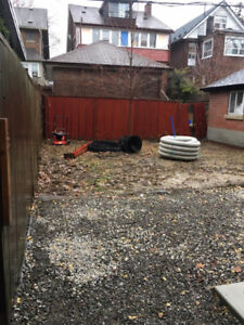 Weeping Tile, Sump Pit and Steel Posts