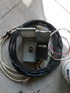 Hot tub wiring kit