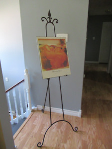 Metal Artwork Display Easel