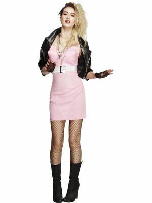 80s Pop Rock Star Diva Chick Kostüm Damen - Kinder Diva Kostüme