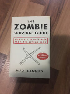 Zombie Survival Guide ~ Max Brooks