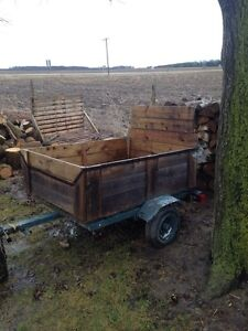 Nice little utility trailer $250 or trade
