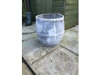 Vintage Galvanised Dolly Tub