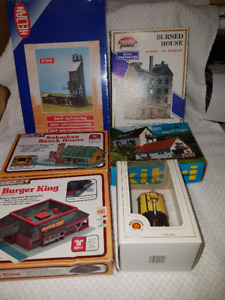 Model Railroad - Model Train Building Kits - N Scale
