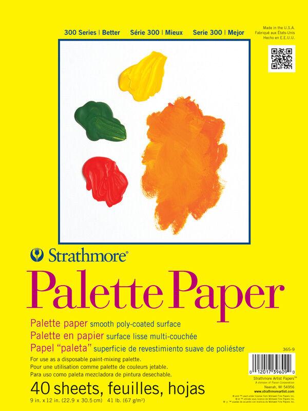 Strathmore Palette Paper Pad 9X12