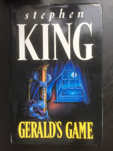 Stephen King Rare UK Editions ( The Shining,Gerald's Game +more)
