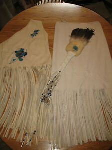 Native American Ceremonial Top and Skirt