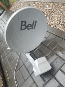 Used Bell Satelite Dish Network