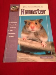 The guide to owning hamsters