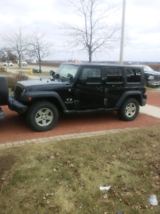 Jeep Wrangler unlimited. Certified and etested.