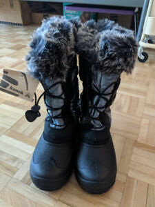 NEW! Kamik Winter Boots (Girl / Woman), Junior Size 6