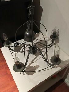 Chandelier includes 5 light bulbs Bethania Logan Area Preview