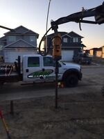 Screw piles starting at 190.00 installed
