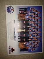 Brand new Edmonton Oilers 1984 Stanley cup champions poster