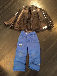 North Face 3 in 1 Winter Jacket and Snow Pants