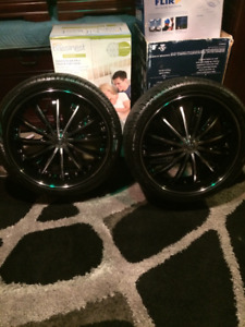 265/35/22 Rims and Tires